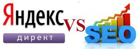 Контекст против поискового продвижения (Direct vs SEO)