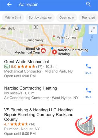 Для чего Google тестирует нововведения в в локальном поиске